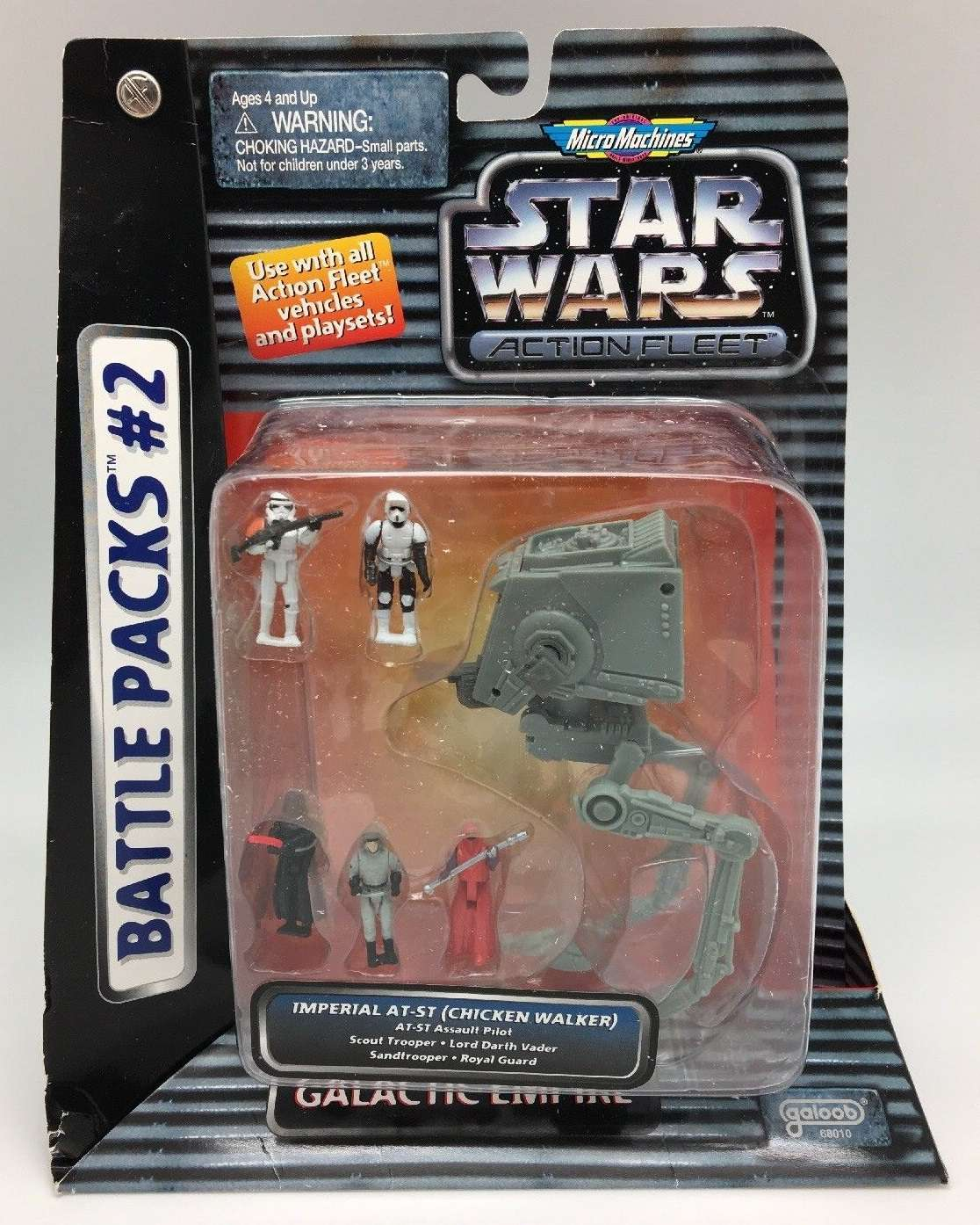 Micro Machines Star Wars Emperor Palpatine's Shuttle