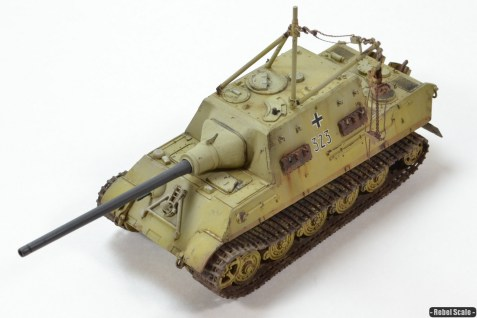 Jagdtiger with crane Dragon 1/72