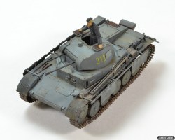 Panzer II with schürzen