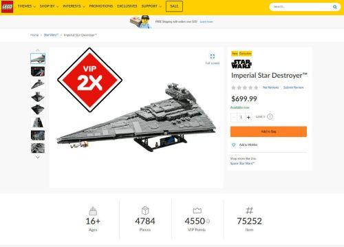 LEGO Star Wars 75252 Imperial Star Destroyer screenshot