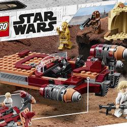 75271 Luke Skywalker's Landspeeder - box rear