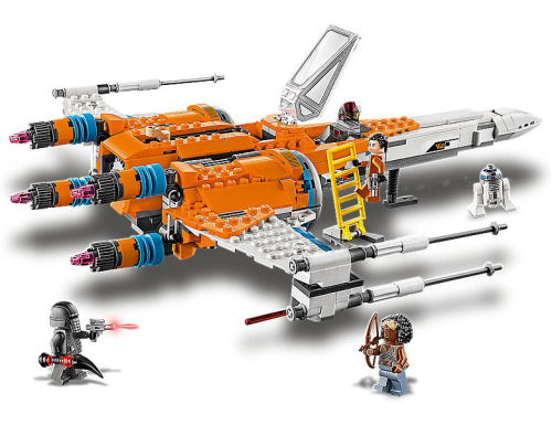 75273 Poe Dameron's X-wing Fighter - product image