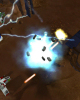 Two-player gunships fight side-by-side