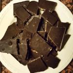 Zelfgemaakte chocola!