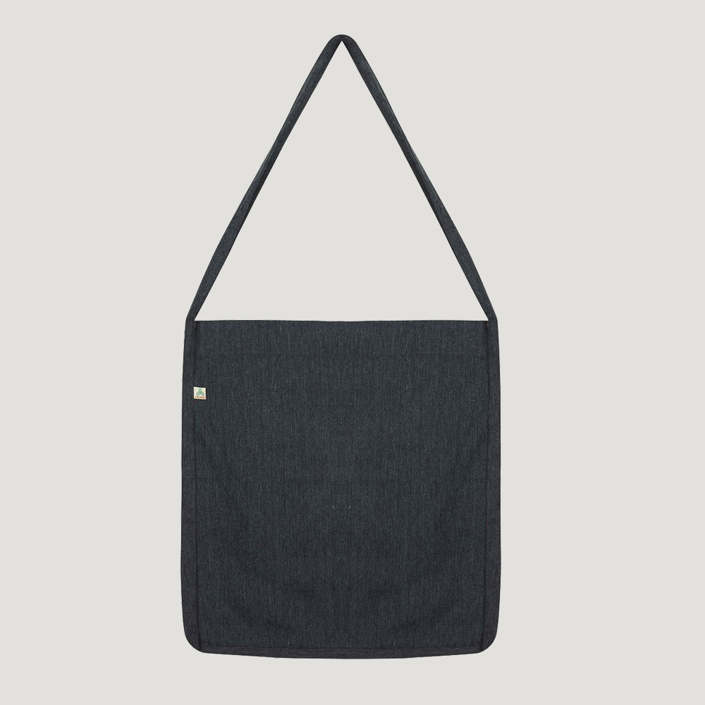 Salvage recycled cotton sling bags