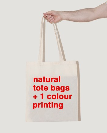 natural unbleached tote bags