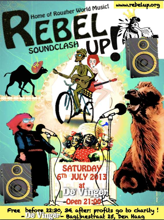 rebel up 6 july 2013