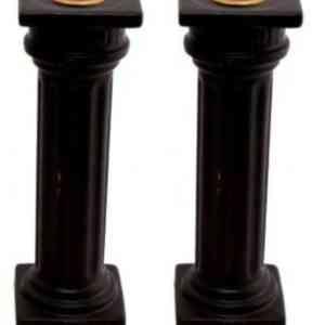 Tall Column Candle HolderTall Column Candle Holder - in Black or White - in Black or White