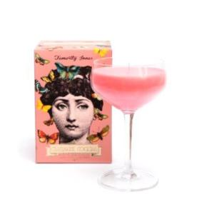 Pink Cocktail Candle