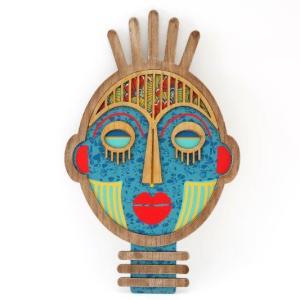 Batik Decorative Mask