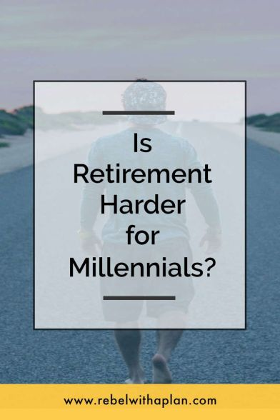 Is retirement harder for millennials?