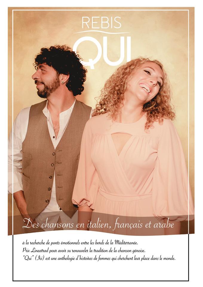 Domenica 25 febbraio i Rebis saranno in concerto all'enoteca d'autore Monna Bianca di Lavagna.