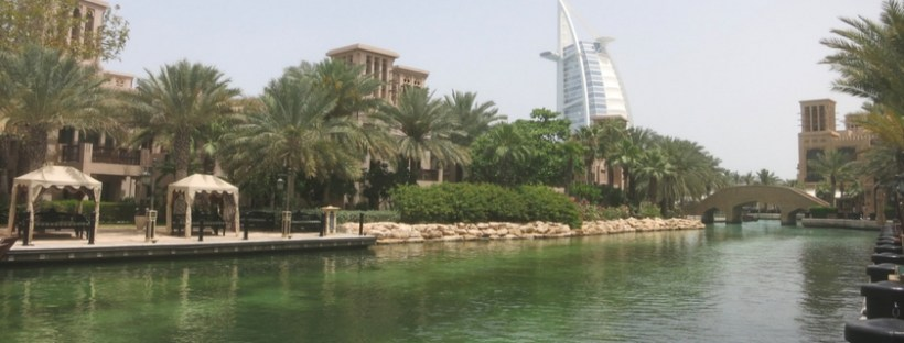 waterway in Abu Dhabi, UAE