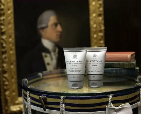 Hautpflegeprodukte Creme und Reiniger für das Gesicht von Truefitt & Hill
