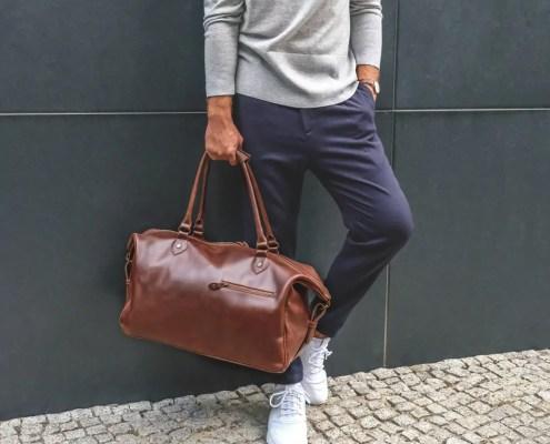 Coole Reisetasche für Kurztripps oder Retro-Sporttasche - Weekender Linwood