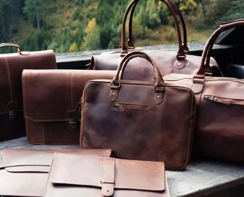 Buckel & Seam Taschen als Gruppe