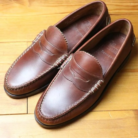 Allen Edmonds Kenwood Dk Brown Saddle