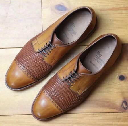 Allen Edmonds New Orleans Weave - Eleganter Business Classics Schuh