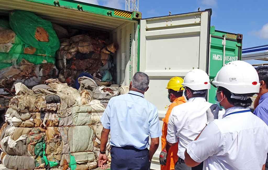 Sri Lanka to return containers to UK filled with human remains - REB