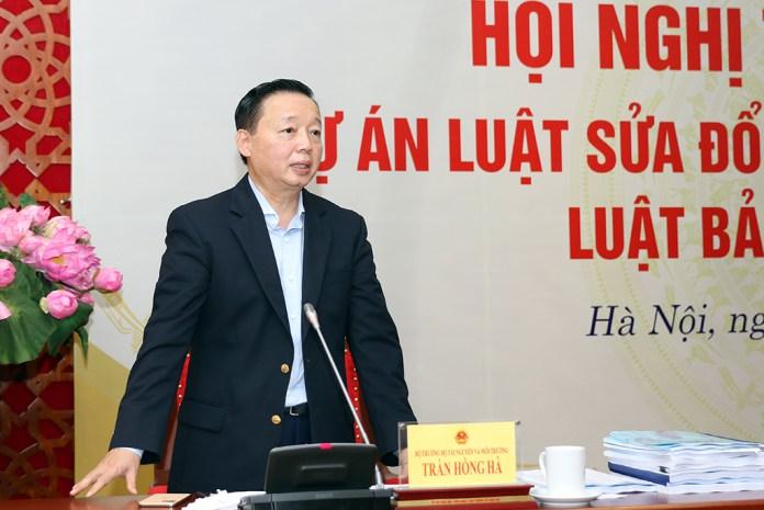 Vietnam Environment Minister Tran Hong Ha