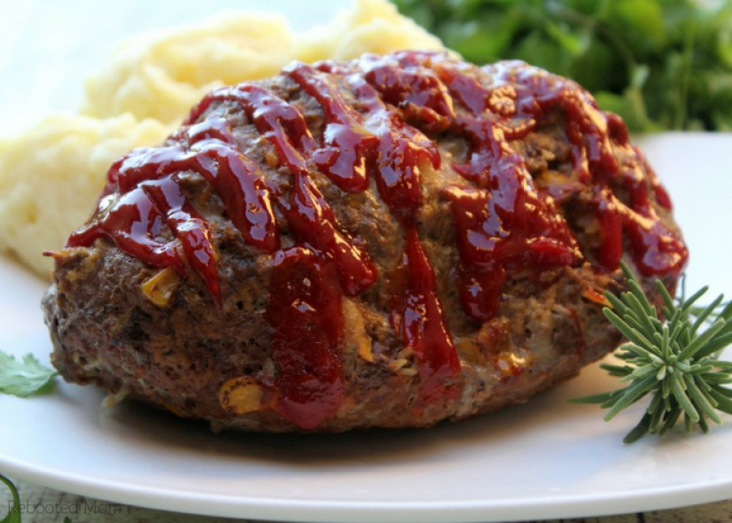 This traditional meatloaf recipe features flavorful seasonings, ground beef, and a touch of garlic. It cooks up quickly in the Instant Pot.