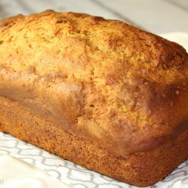 Maple Cinnamon Sweet Potato Bread