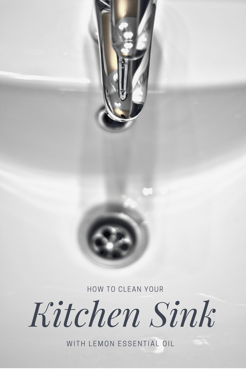 How to Clean your Porcelain Sink - Rebooted Mom