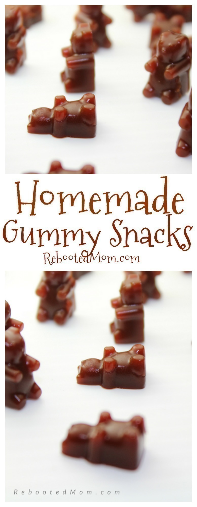 These homemade fruit snacks are SO easy to make - and incredibly healthy!