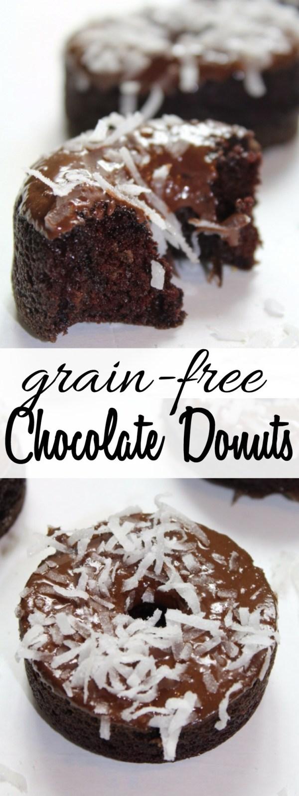 Grain Free Chocolate Donuts