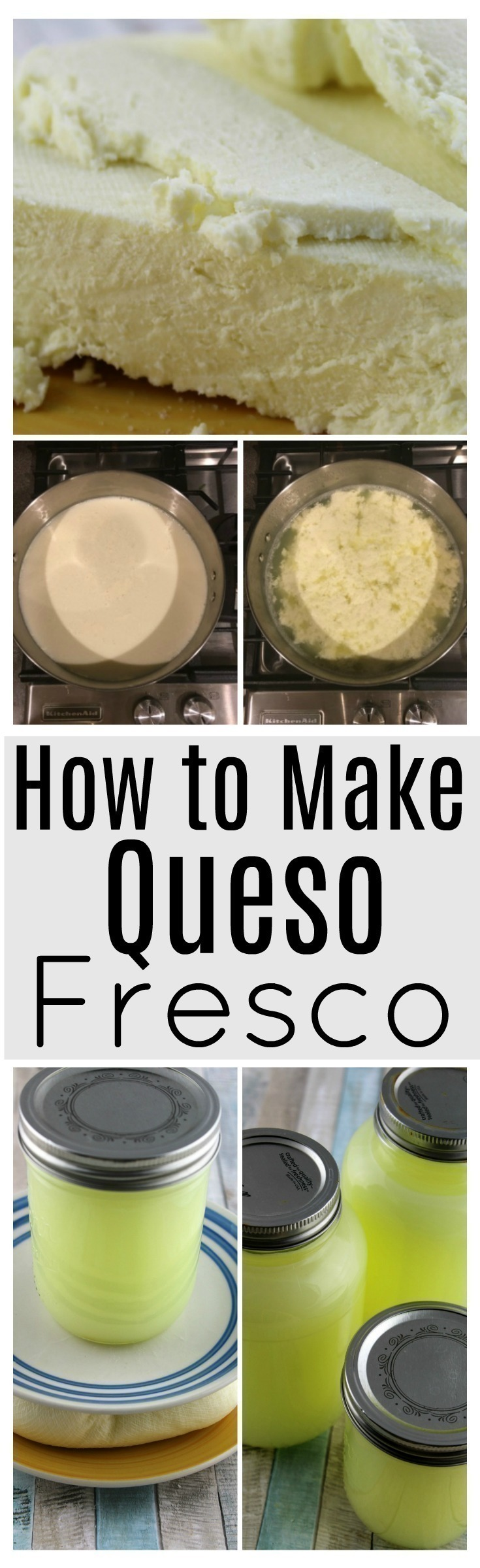 Explore the art of food craft and make your own cheese. This quick and simple recipe for queso fresco (fresh cheese) is the perfect place to start.