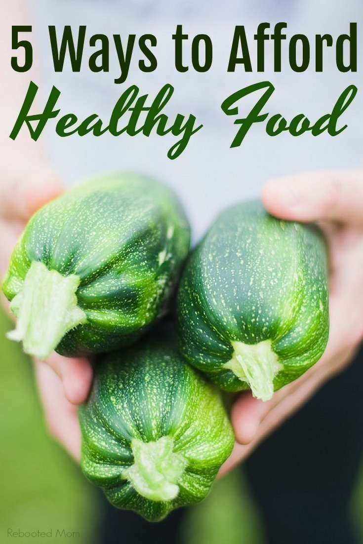 While eating more healthy can seem like sticker shock at first, it really can be affordable - if you know how to look in the right places. Here are 5 ways to save on healthy food.