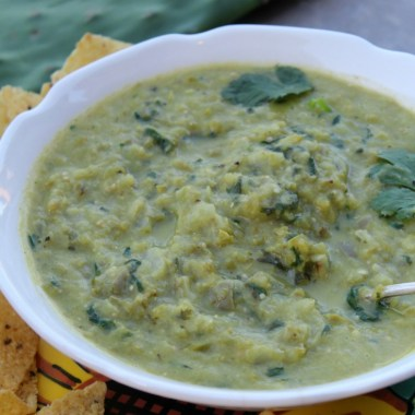 Roasted Nopales (Cactus) and Jalapeño Salsa