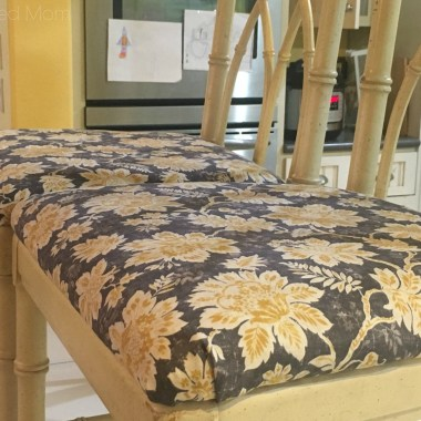 How to Recover Chair Seat Cushions