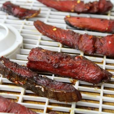Smoky  Salmon Jerky Recipe