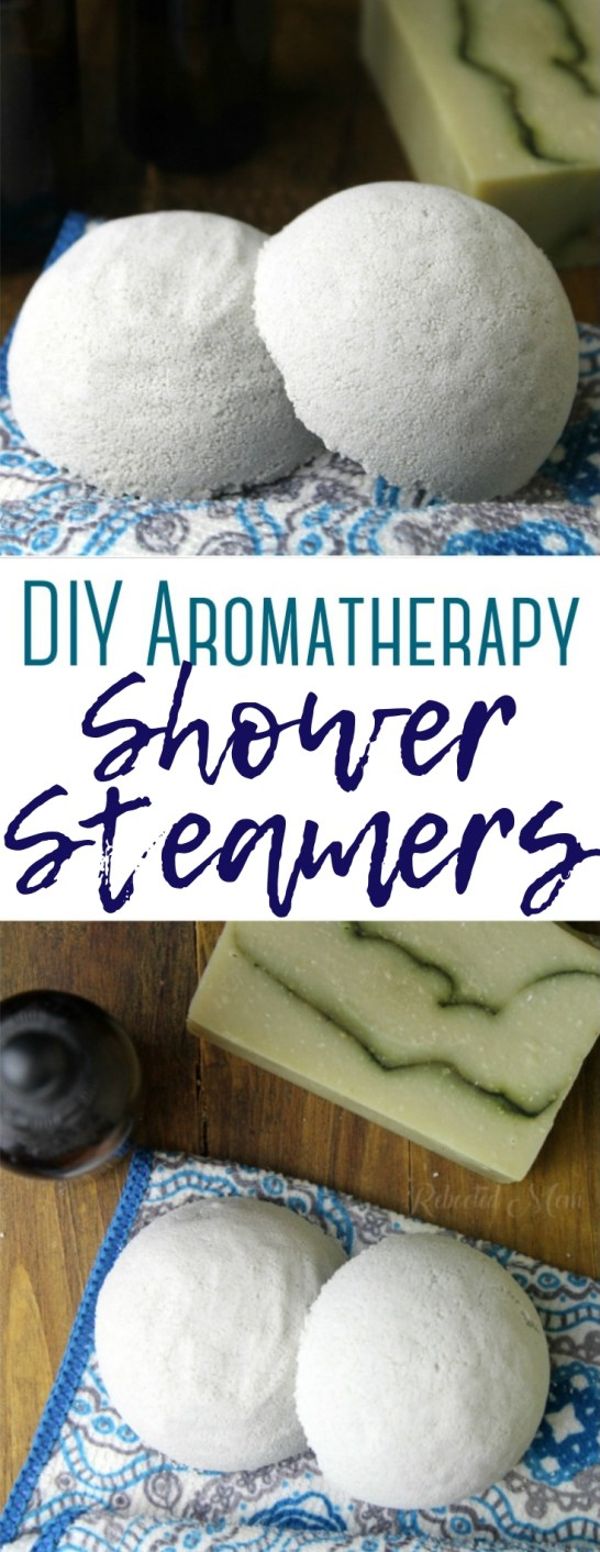 Learn how to make these simple DIY aromatherapy shower steamers with simple ingredients, scented with your favorite combination of essential oils!