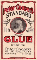 Image result for peter cooper glue factory