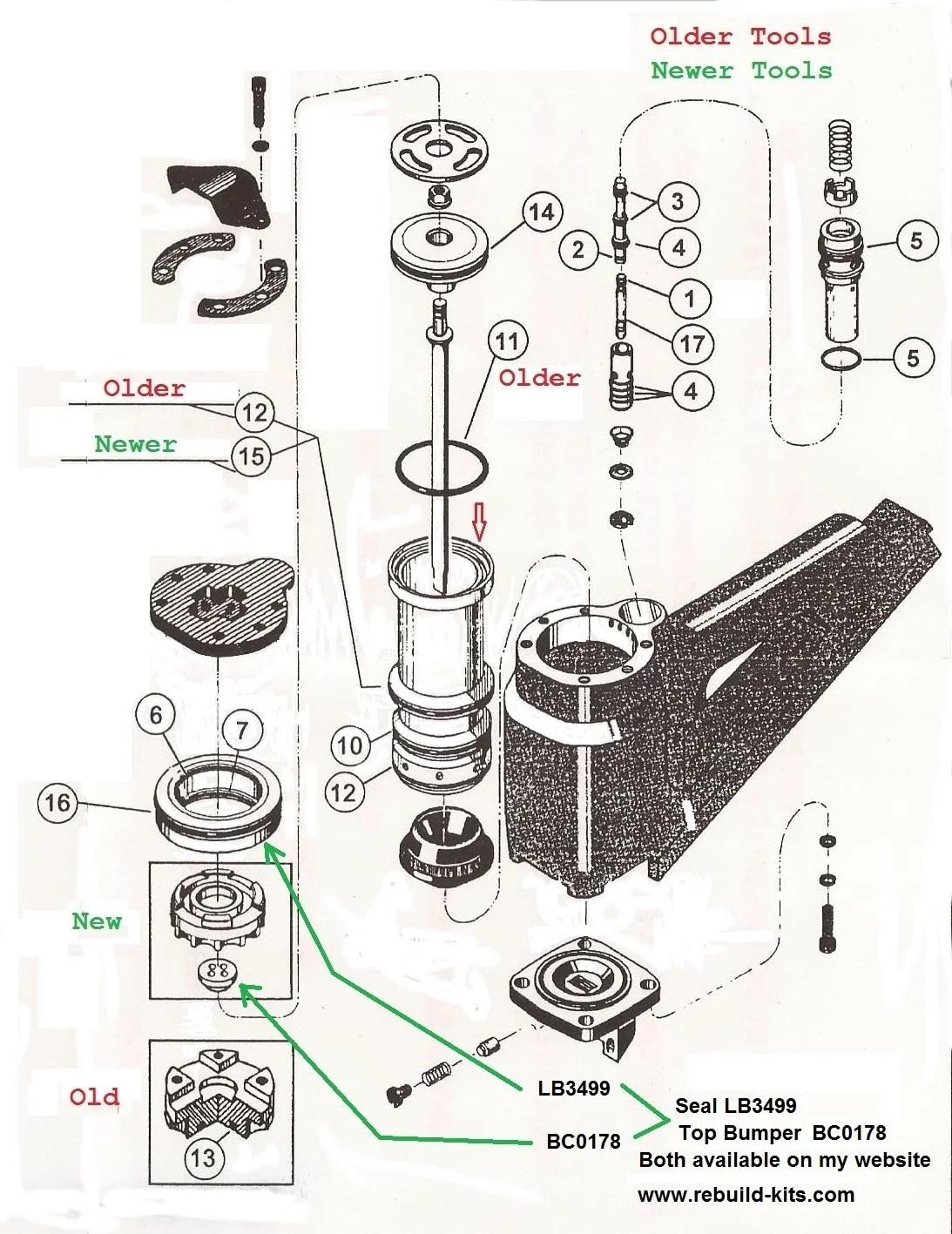 Senco Sn325 Rebuild Kit