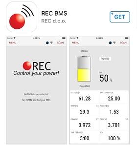 BLE module for REC BMS