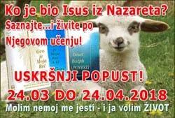Uskršnji popust - Ko je bio Isus iz Nazareta? Saznajte i živite po Njegovom učenju!