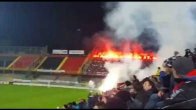 Photo of Foggia-Casertana, le Curve si accendono