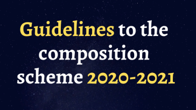 Photo of Guidelines to the composition scheme 2020-2021