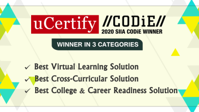 Photo of uCertify Recognized by SIIA as Winner in Three Categories At Education Technology CODiE Awards, 2020
