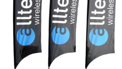 Photo of Teardrop Promotional Flags For Trade Shows