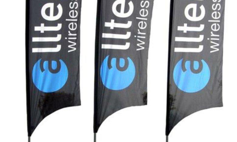 Teardrop Promotional Flags