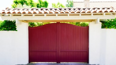 Photo of Key Merits of Installing Aluminum Fence Panels along Property Boundary