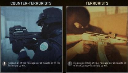 counter terrorist and terrorist