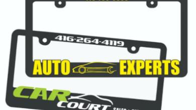 Photo of Tips For Raised License Plate Frames