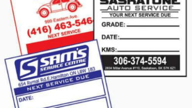Photo of Why You Should Have an Customized Oil Change Sticker on Your Vehicle