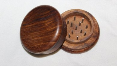 Photo of Crush it in more refined method with help  Wooden Herb Grinder