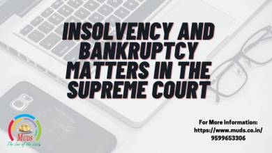 Photo of INSOLVENCY AND BANKRUPTCY MATTERS IN THE SUPREME COURT
